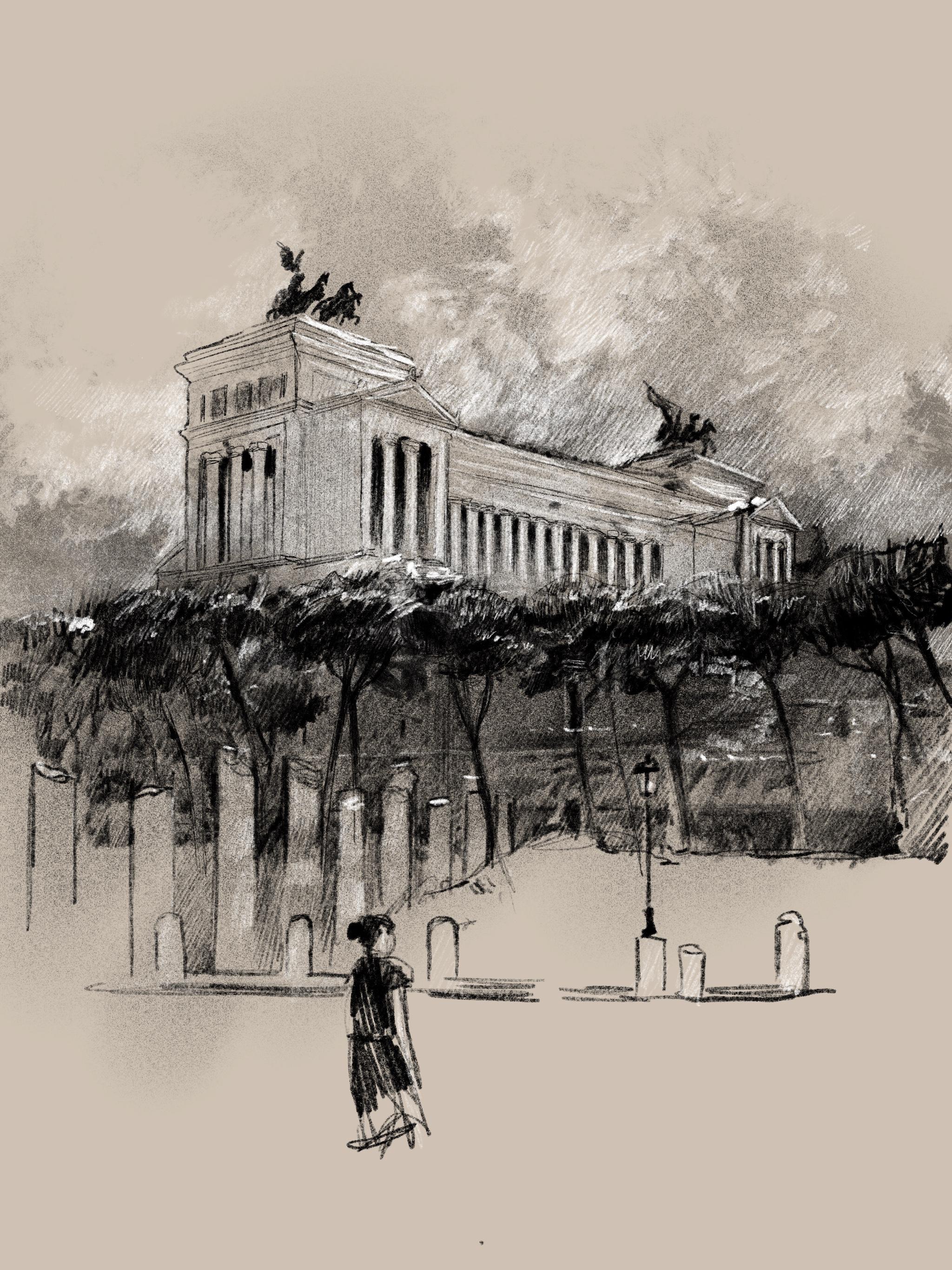 Roma altare della patria vittoriano neoclassico
