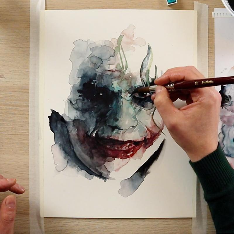 Disegno Joker Heath Ledger