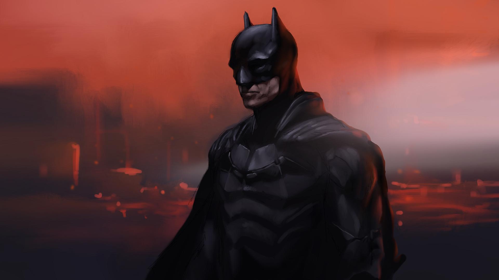Procreate the batman stefano marvulli